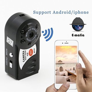 Night Vision Mini WiFi Dvr HD Hidden Spy Camera Video Recorder Security Support By Bgc