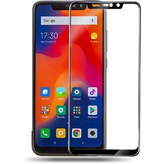 Vinimox 6d tempered glass for Redmi Note pro (black)