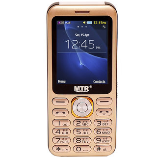 MTR DJ DUAL SIM MOBILE PHONE WITH 2.4 INCH DISPLAY, WITH POWERFUL BOOM SPEAKER