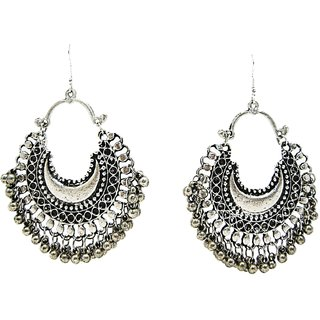 Muccasacra Hot Ing Fashion Afghani Style Silver Earrings