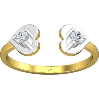 6a9b89358 Jewel Hub SI-IJ Diamond Ring 0.13 ct / 2.00 gm 18k Yellow Gold JRG3035. Rs.  21930