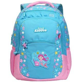 Smily Kiddos Dual Color Backpack (Light Blue)