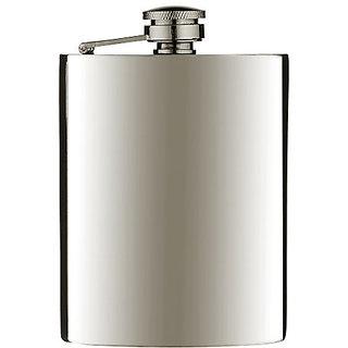 Hip Flask Drinks Wine Whiskey Pocket Holder Bottle Stainless Steel Hip Flask (8oz)