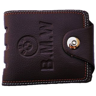 Bovis Fashionable Stylish Men's Wallet (Synthetic leather/Rexine)