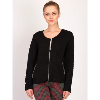Kotty Women's Black Plain Blouson