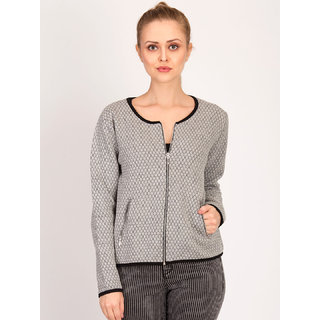 Kotty Women's Grey Plain Blouson