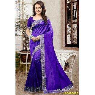 Purple Colour Sarees
