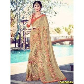 Gold Colour Sarees