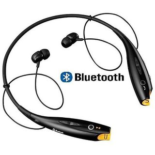 HBS-730 Bluetooth Stereo Sports Wireless Portable Neckband Headset for All Smartphone -(Color Per Availability)
