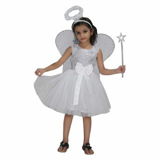 Christmas Party Dress Up Themes.Kaku Fancy Dresses Angel Costume Fairy Tales Halloween Christmas Costume Story Book Costume Annual Function Theme Party