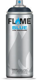 Flame Blue Anthracite Grey Color Graffiti Spray Paint - FB 844 (400 ml)