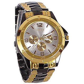 i DIVA'S LIFE STYLE STORE NEW BRAND Rosra White Dial Men's watch