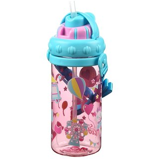 Smily Sipper Water Bottle (pink)