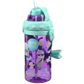 Smily Sipper Water Bottle (purple)