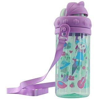 Smily Sipper Water Bottle (Light blue)