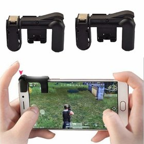 Tech Gear Smartphone Gaming Trigger for PUBG Mobile Game Fire Button Aim Key L1R1 Shooter Mobile Gaming Controller