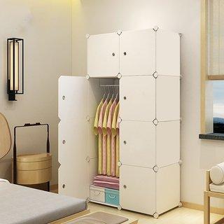 House of Quirk Portable Closet Wardrobe Bedroom Storage Organizer