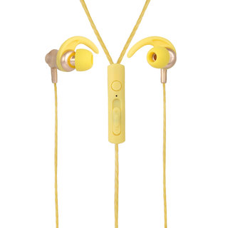YOOKIE YK-670 EARPHONE With Mic (Yellow)