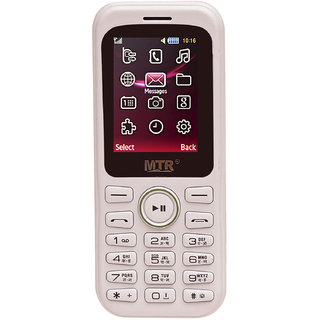 MTR MT-313 DUAL SIM MOBILE PHONE WITH 1.8 INCH SCREEN, 800 MAH POWERFUL BATTERY AND LOUD SOUND