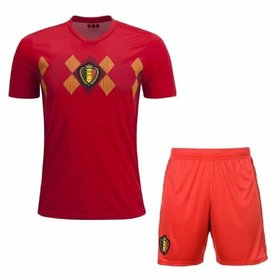 belgium football world cup jersey with shorts