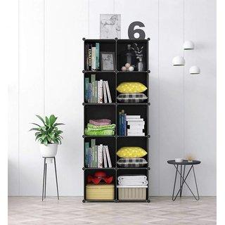 Buy House of Quirk 10-Cube DIY Shoe Rack Storage Drawer ...
