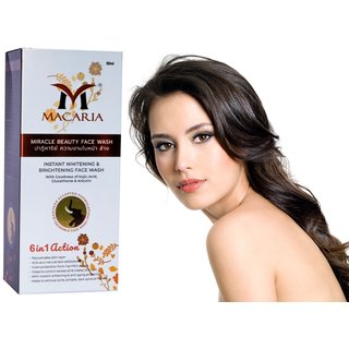 Pack of 1 Macaria Anti-acne  Pimples/blemishes Face Wash