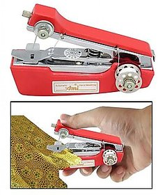 1M Manual Red Mini Stapler Model Sewing Machine