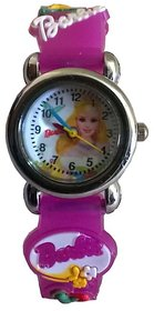 Barbie watch purple colour girls kids watch