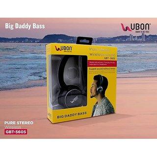 a62340d3b48 Buy Ubon GBT-5605 Wireless Bluetooth Headphone (Grey) Online at ...