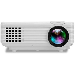 ORIGINAL QUALITY FULL HD RD805 LED PROJECTOR WITH CABLE TV SUPPORT HDMI VGA USB AVI ENTERTAINMENT AND BUSINESS PROJECTOR