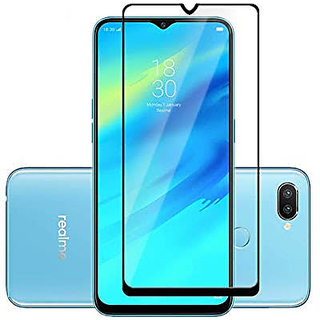 Vinimox 6d tempered glass for Oppo Realme 2 Pro (black)