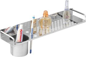 SDM STEEL SHELF WITH TUMBLER (PACK OF 2)
