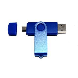 Pankreeti PKT2722 Swivel  Rotatable OTG 128 GB Pen Drive