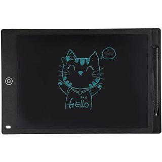 Tech Gear 8.5 Inch LCD Writing Tablet Drawing Board Writing Message Board Stylus Graphic eWriting Pen Tablet Notepad Bl