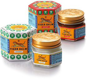 Tiger Balm Red And White - 10g (Set Of 2)