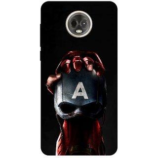 Back Cover for Motorola Moto E5 Plus (Multicolor,Flexible Case)