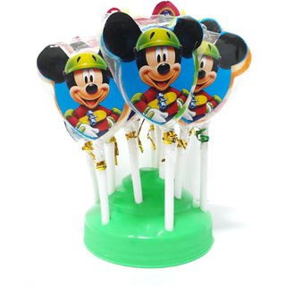 355b1bcd37f Buy MICKEY MOUSE lollipop Tom Joy Candy (50 Packs in 1 Box) Online ...