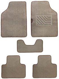 Autostark Carpet Floor Car Mat Tata Indigo (Beige)