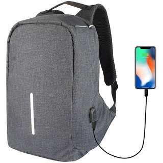 Satellite bags Anti-Theft Waterproof Polyester Backpack for Men and Women, 15 Liters (H013)