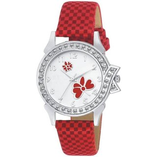 HRV LADIES 13 RED Colors Beautiful Analog Watch - For Women