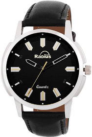 Radius By Smartshop16 Men Black Analog Watch (R-50)