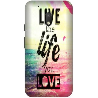 Back Cover for Motorola G4 Play (Multicolor,Flexible Case)
