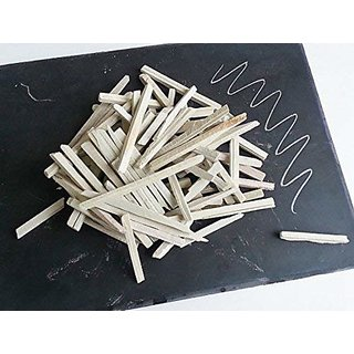Slate Pencil Stationery Natural Stone Chalk,1kg(White)