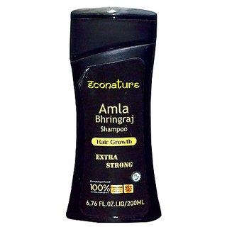 Econature Amla bringraj shampoo 200ml