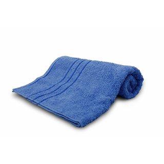 Sassoon Sandy Plain Cotton Bath Towel - Blue