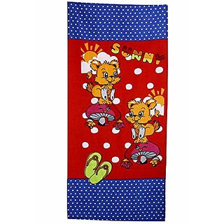 Sassoon Printed Multicolour Bath Towel-50X85CM (Pattern 10)