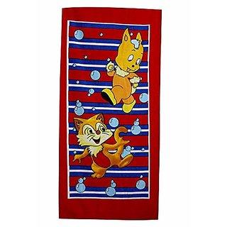 Sassoon Printed Multicolour Bath Towel-50X85CM (Pattern 3)