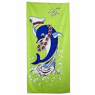 Sassoon Printed Multicolour Bath Towel (Pattern 10)