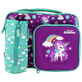 Smily Kiddos Smily Multi Compartment Lunch Bag Purple