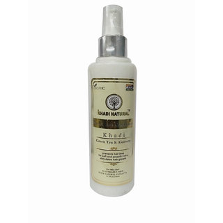 Khadi Natural Herbal Green Tea and Aloevera Hair Conditioner 210 ml